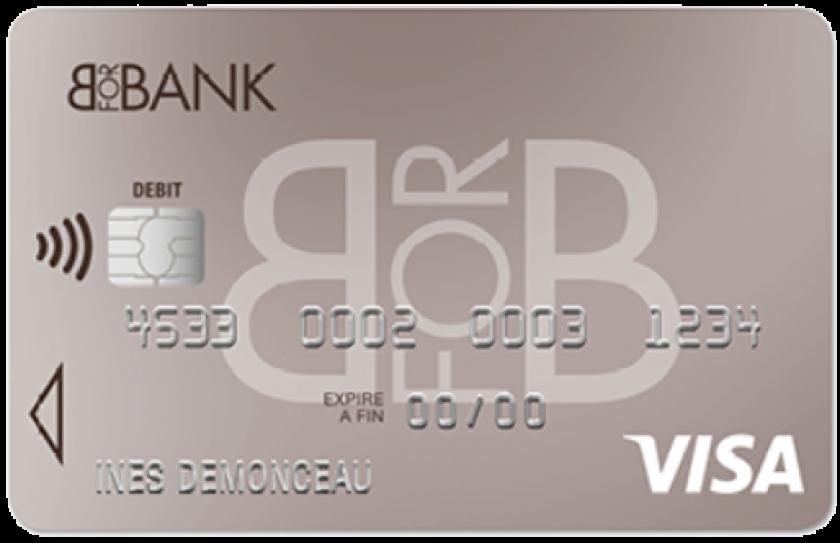 Visa classic BforBank