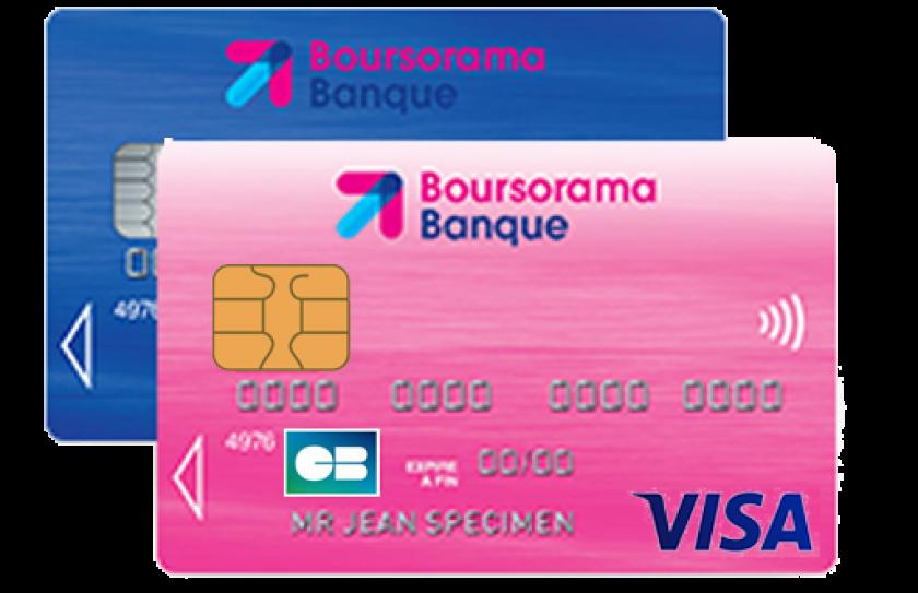 Visa Classic de Boursorama gratuite