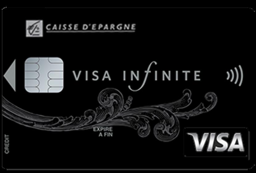 Visa Infinite de la Caisse d'Epargne
