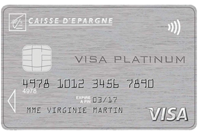 carte platinum caisse d épargne Visa Platinum de la Caisse d'Épargne : carte haut de gamme