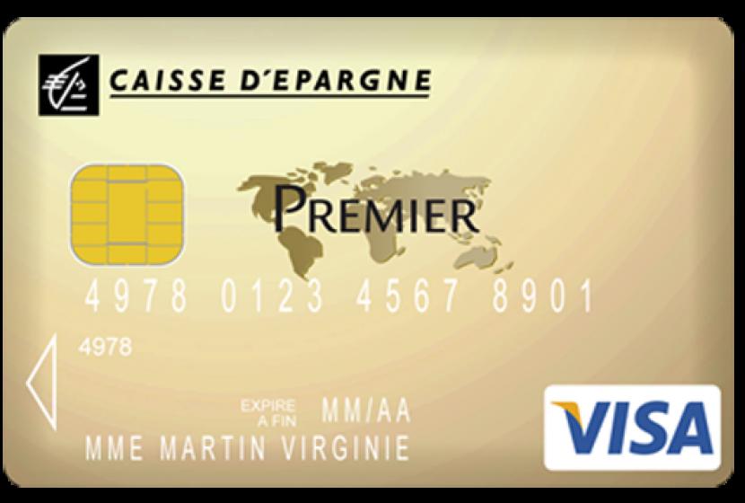 plafond carte visa caisse epargne Visa Premier de la Caisse d'épargne au prix de 160 €/an