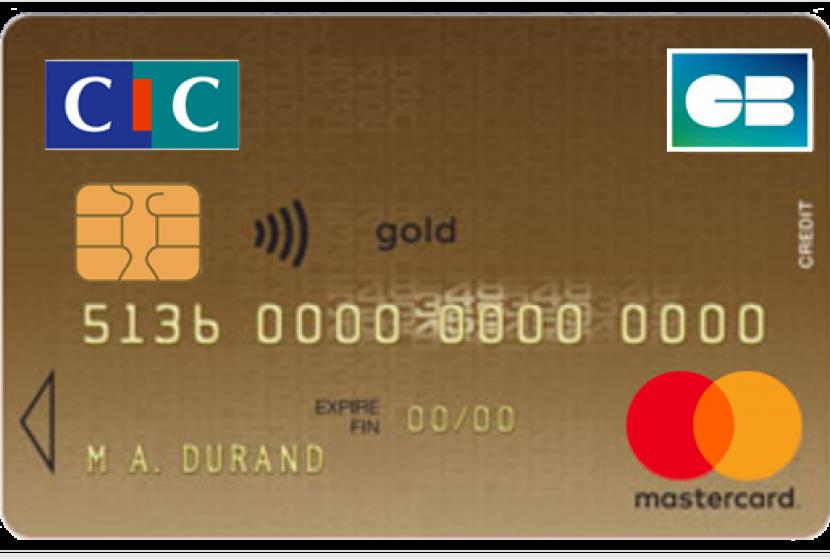 CIC Mastercard Gold