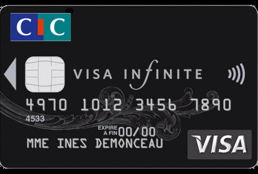 Visa Infinite CIC