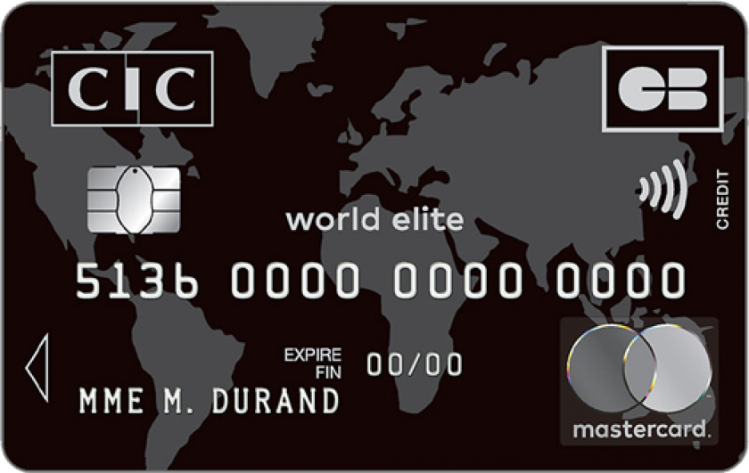 CIC Mastercard Wolrd Elite