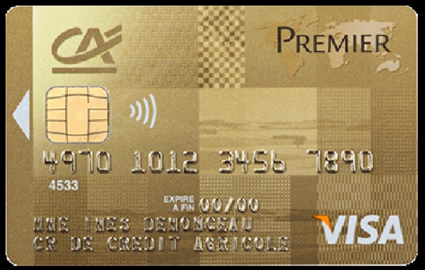 tarif carte visa premier Visa Premier du Crédit Agricole à débit différé ou immédiat.