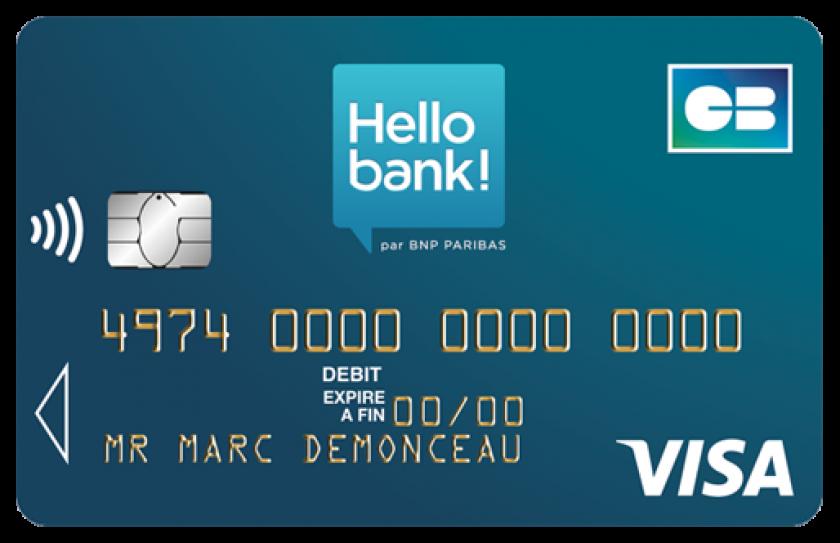 Hellobank Carte Visa Classic