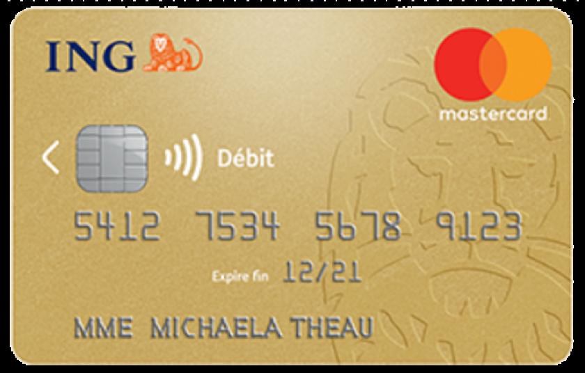 Mastercard Gold ING