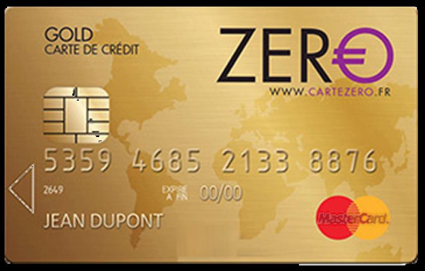 Mastercard Zéro gold