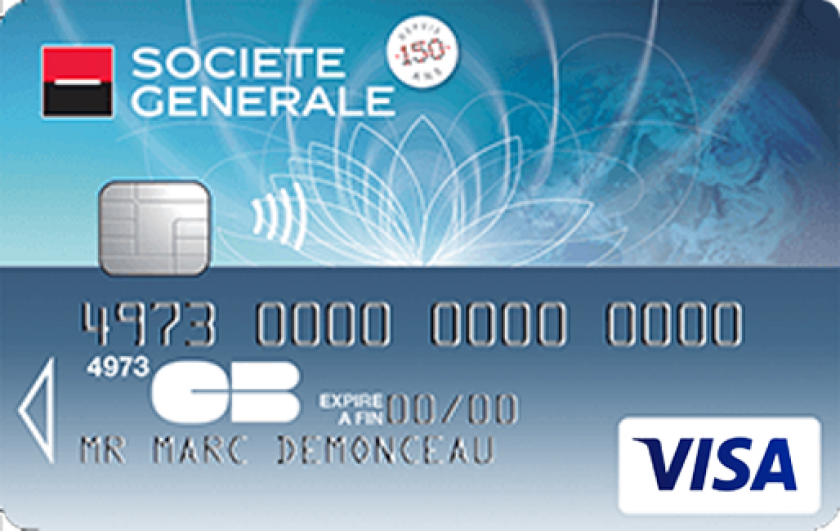 Société Générale Visa classic