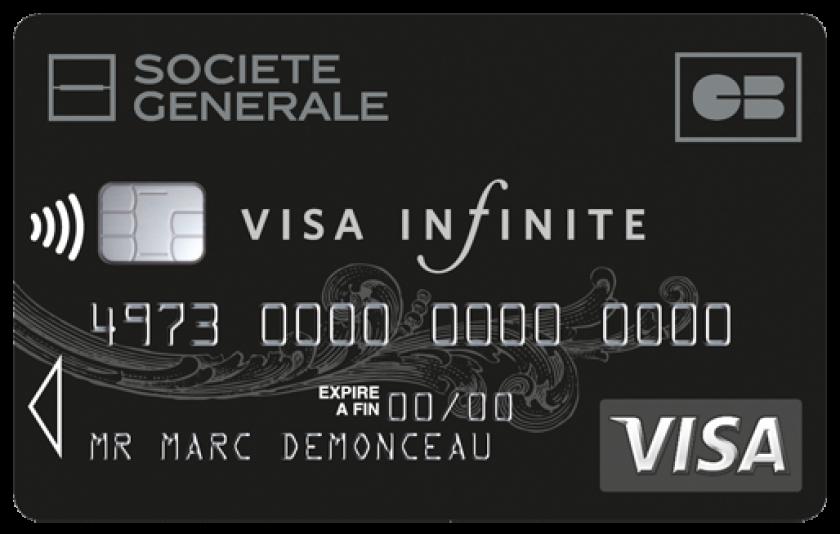Société Générale Visa infinite