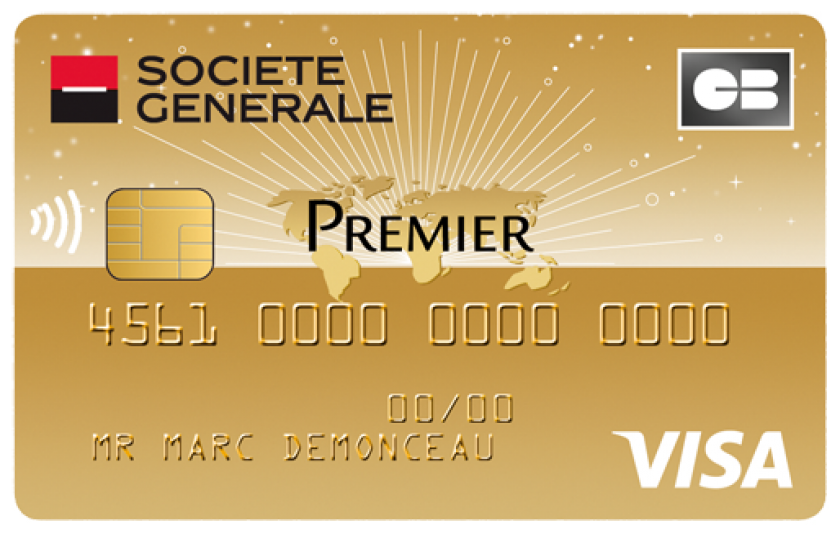 Société Générale visa premier