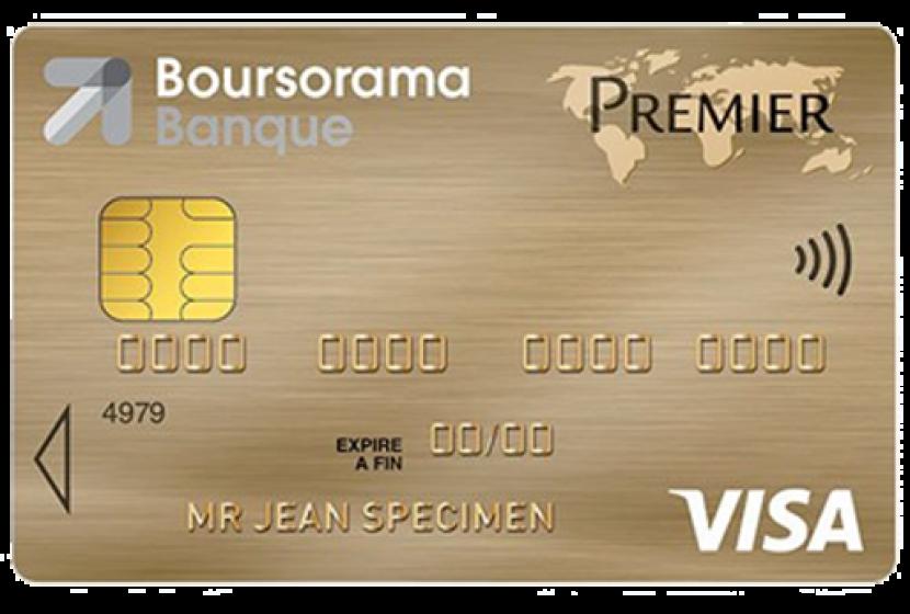 Visa Premier Boursorama