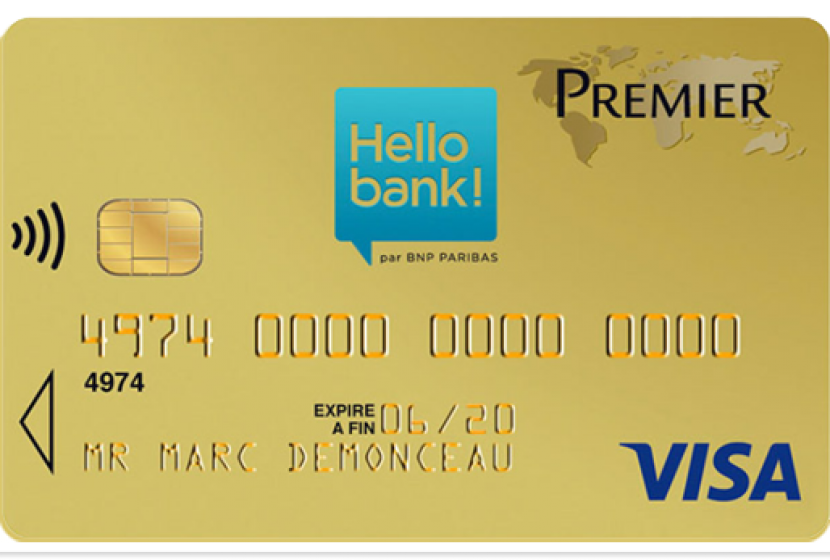 Visa Premier Hellobank